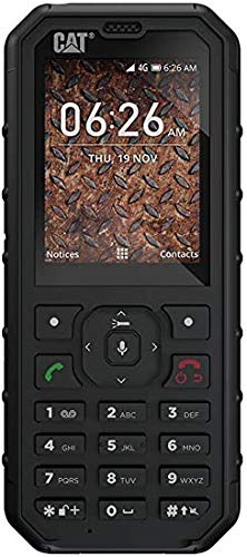 Caterpillar CAT B35 - Mobile Phone 4GB, 512MB RAM, Dual SIM, Black