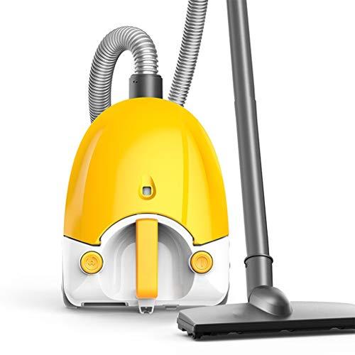 Onbekend stofzuiger, 1200 W 2 l mini tapijtstofzuiger, thuis, multifunctioneel, geluidloos, geel (29 x 22 x 17 cm) lostgaming