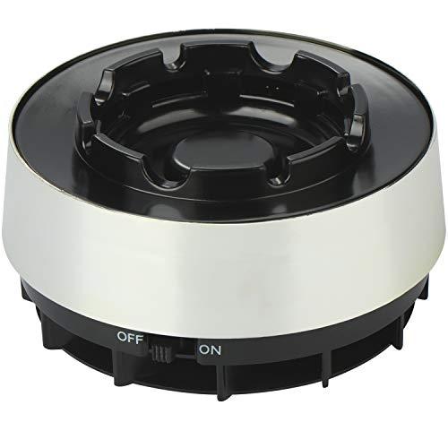 com-four® Elektrischer und rauchfreier Aschenbecher - Effiziente Verringerung von Rauch- und Aschegeruch