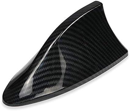 Color : Dark Grey NO LOGO XW-SYQTXD Car Shark Fin Antenna Signal Aerials for Ford VW BMW Hyundai Benz Auto Radio Aerial Imitation Carbon Fiber Antennas