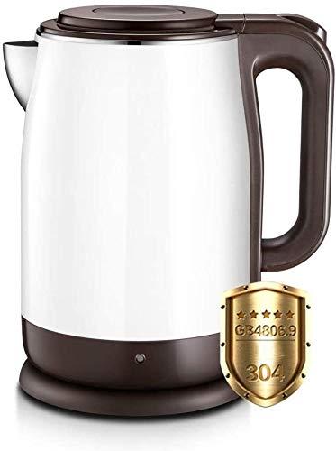 Bouilloire induction Théière électrique Bouilloire en acier inoxydable Théière en acier inoxydable Bouilloire d'eau Bouilloire 1800W Eau Chaude Bouilloire Tea chauffe-thé 1.7L WHLONG