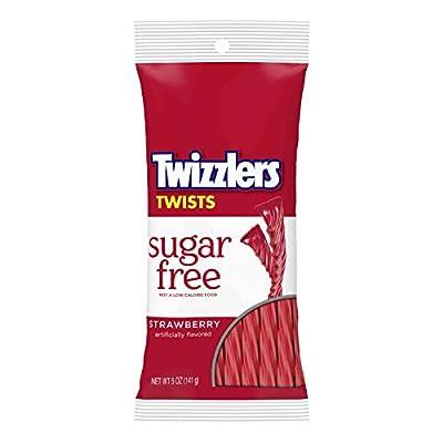 twizzlers sugar free strawberry twists (5-ounce bag) TWIZZLERS Sugar Free Strawberry Twists (5-Ounce Bag) 41jIT4O9 oL