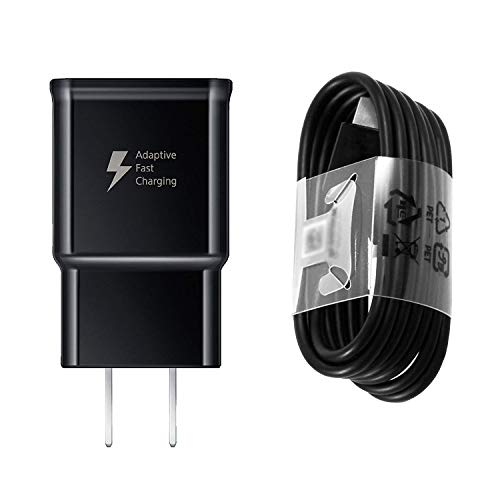 iZopp Adaptive Fast Wall Charger Adapter with USB Type C Cable Compatible Samsung Galaxy S9 S9 Plus S8 S8+ Note 8 Note 9,LG G5 G6 G7 V20 V30 ThinQ Plus and More
