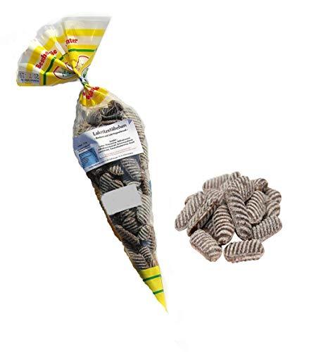 Lakritzstäbchen - Bonbons mit Anis- und leichtem Salzlakritz-Geschmack nach bester Bonbonkochertradition aus der Meistermanufaktur; Genuss mit Wirkung; Kultbonbon; Weihnachtsmarkt