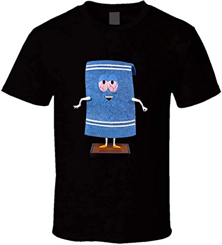 Southpark Towelie Funny t Shirt,Black,Large