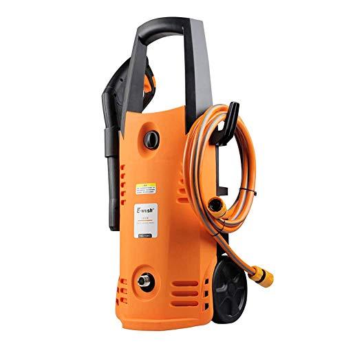 L@LILI Électrique Haute Pression Voiture Machine à Laver Domestique 220V cuivre Portable Voiture Machine à Laver Machine à Laver électrique Voiture Brosse Pompe Pistolet à Eau