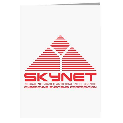 Skynet Cyberdnye Systems Terminator Greeting Card Interno Alámbrico dispositivo de acceso RDSI