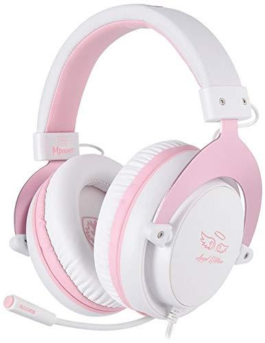 SADES Mpower SA-723 Gaming Headset pink, Normal