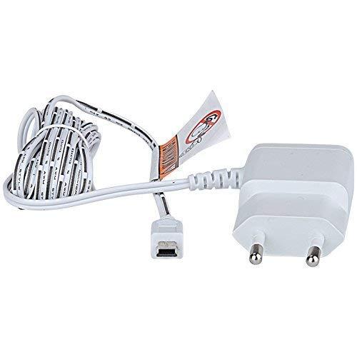 COSANSYS Babyphone Ladegräte Original mit Ladekabel Mini USB Port für Cosansys Babyphone, hochwertiges Ladegerät mit Netzteil zum Aufladen (Weiß)