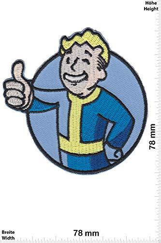 Patch - Fallout 4 - Bethesda Game Studios - Nerd - Nerd - Fallout - Aufnäher - zum aufbügeln - Iron On