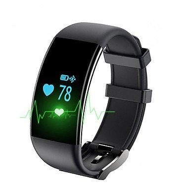 LISABOBO @ Yy df30 Männer Frau smart Armband / smartwatch / Herzfrequenz Blutdruck Sauerstoff Müdigkeit Überwachung für ios Android , black