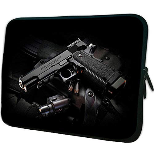 Yinghao Notebook-Tasche 15 6 15 13 12 14 10 10 1 9 7 Zoll Tablet PC-Tasche für HP Acer 17 17 3 13 3 11 6 Chromebook-Hülle für Laptops@Pistole_14 Zoll