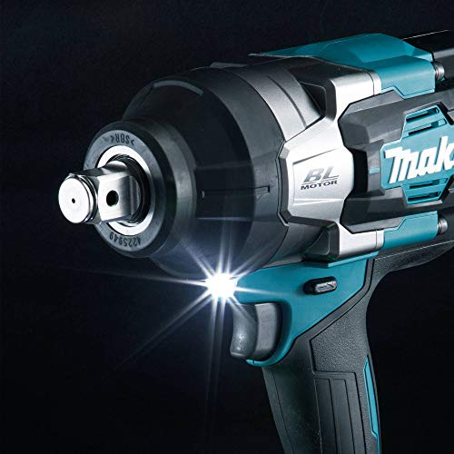 Makita GWT01D 40V Max XGT Brushless Lithium-Ion 3/4 in. Cordless 4-Speed High-Torque Impact Wrench with Friction Ring Anvil Kit (2.5 Ah)