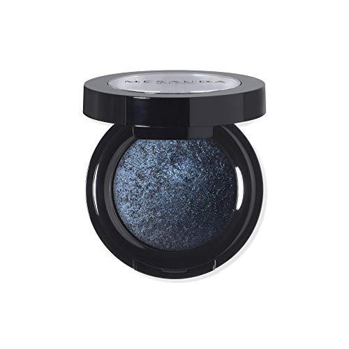 MESAUDA Milano Luxury Eyeshadow Lidschatten gebacken 302Blue Sapphire Paraben Free