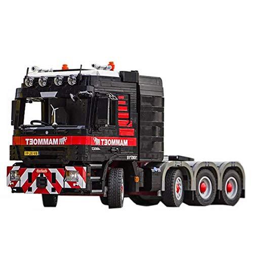 FFCVTDXIA 3475 Stück Baustein Stahlbeton Truck, Technik Super Racing RC Car Kit, Modellbausteine kompatibel mit, Ziegelstierspielzeug für Erwachsene oder Kind, dynamische Version zhihao