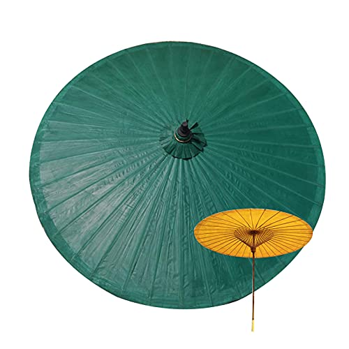 LIUU Bambú Sombrilla Playa 200cm Clásico Sombrilla Jardin Exterior Sombrillas Terraza Hosteleria Impermeables Paraguas De Papel De Aceite para Supermercado