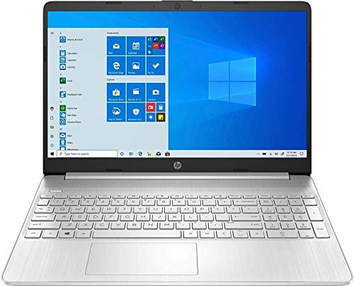 "2020 HP 15.6"" Touchscreen Laptop Computer, Quad-Core AMD Ryzen 5 3500U (Beats i7-7500U), 802.11ac WiFi, Bluetooth 4.2, Type-C, HDMI, Silver, Windows 10+ CUE Accessories (12GB DDR4 RAM, 512GB PCIe SSD)"
