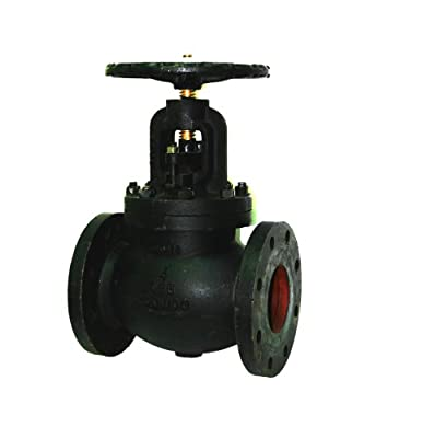 """Apollo 711F Series Cast Iron Globe Valve, Class 125, Inline, Bolted Bonnet, 4"""" Flanged from Conbraco Industries"""
