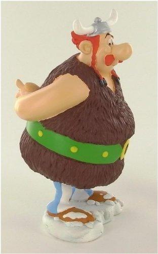 Asterix figura resina Obelix vikingo 14 cm 3