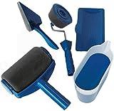 EN-223026 Rullo Pittore fai da te 8 pezzi, Rullo da Pittura,Paint con Serbatoio Integrato, Antigocciolamento, Non Sporca, Facile da usare