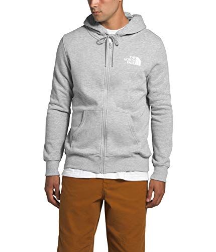 The North Face Men's Half Dome Full Zip Hoodie, TNF Light Gray Heather, XL