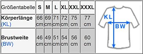 10-Kanal Equalizer LED T-Shirt Fun Party Shirt Mann (l) - 4