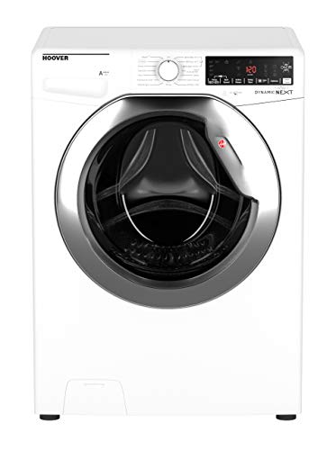 Hoover DWOA412AHC8 Freestanding Washing Machine, WiFi connected, 12Kg Load, 1400rpm Spin,  White