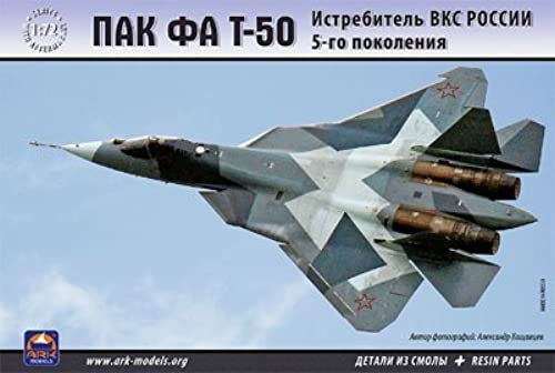 Ark Models AK72036 Modellbausatz PAK FA T-50 Russian Aerospace Forces 5th-Generation fig