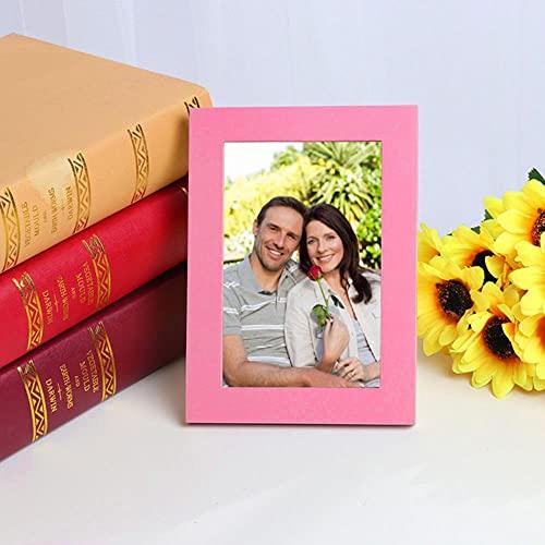 2021 decoración vintage Marco de fotos vintage Decoración para el hogar Marcos de fotos de madera para bodas YE декор дома новый год-SPAIN, Azul marino