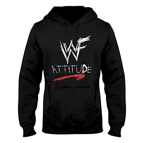 Wrestling Hoodie - WWF Attitude Shirt Men