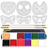 Koogel Face Painting Kits, 12 Colors...