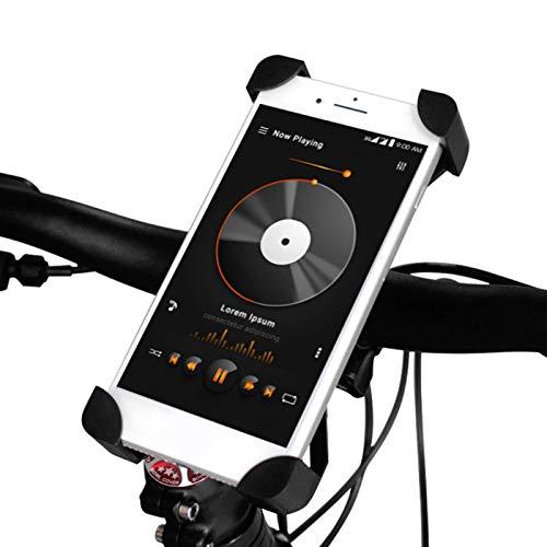 FOLOSAFENAR Clip del teléfono de la Bici del Tenedor del teléfono de la Motocicleta Robusto, para la Bicicleta, Motocicleta