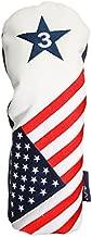 USA Patriot Golf Limited Edition Vintage Retro Patriotic #3 Metal Fairway Wood Headcover