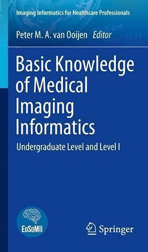 Basic Knowledge of Medical Imaging Informatics: Undergraduate Level and Level I (Imaging Informatics