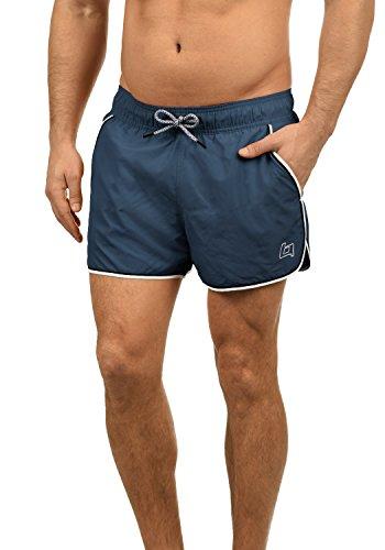 Blend Balderian Herren Badehose Badeshorts Schwimmshorts Mit Kordel, Größe:XL, Farbe:Denim Blue (74646)