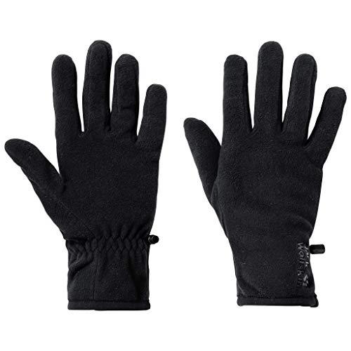 Jack Wolfskin Unisex Nanuk Ecosphere 100 Glove Handschuhfutter, Black, S
