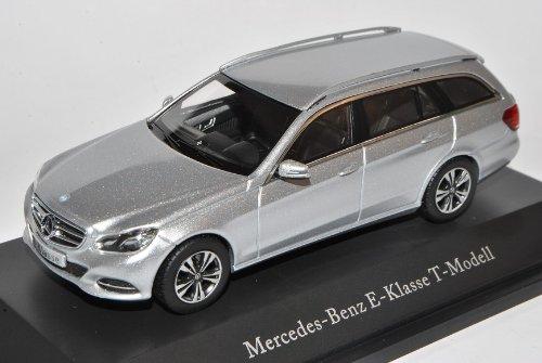 Kyosho Mercedes-Benz E-Klasse Kombi T-Modell Iridium Silber W212 S212 Ab Facelift 2013 1/43 Modell Auto mit individiuellem Wunschkennzeichen