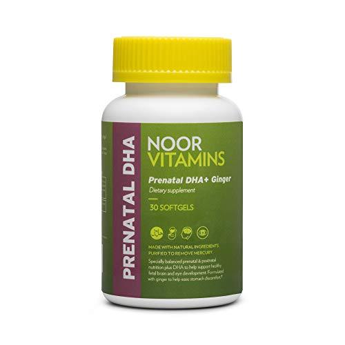 NoorVitamins Prenatal Vitamins with DHA Includes Essential...