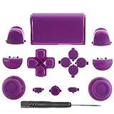 Canamite® - Juego de botones para mando de PS4 Playstation 4 Dualshock (9#)