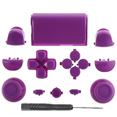 Canamite® Thumbstick Mod Kit Daumen Kappen Button Knöpfe Set für PS4 Playstation 4 Dualshock Controller (9#)
