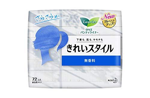 花王 ロリエ きれいスタイル 無香料 72個 [6210]