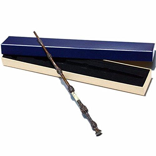 JIMMYFUN Handcrafted Magic Wand, Handcarved, Black Wand, Professor Wand, Wizard Sorcerer's Wand (No.4)