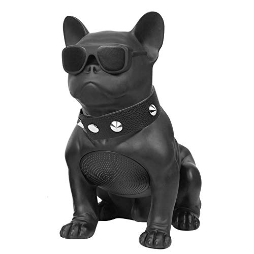 XDJ Bluetooth-Lautsprecher Bulldogge Bluetooth Lautsprecher Rubody Hund Sturzprävention Lautsprecher Hundekopf Multifunktional Anti-Herbst-Lautsprecher Mittel 210 * 119 * 198mm