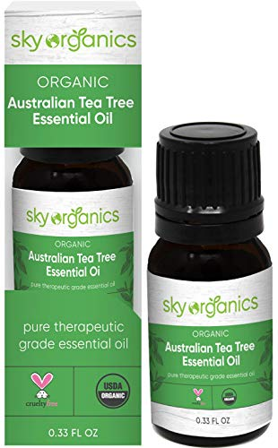 Organic Australian Tea Tree Essential Oil by Sky Organics