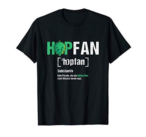 HOPFAN | Lustiges Bier Bierliebhaber Biertrinker Craft Beer T-Shirt