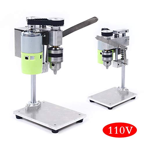 Best Deals! Bench Drill - DIY Mini Drill Press for Bench Drilling Machine Variable Speed Drilling Ch...