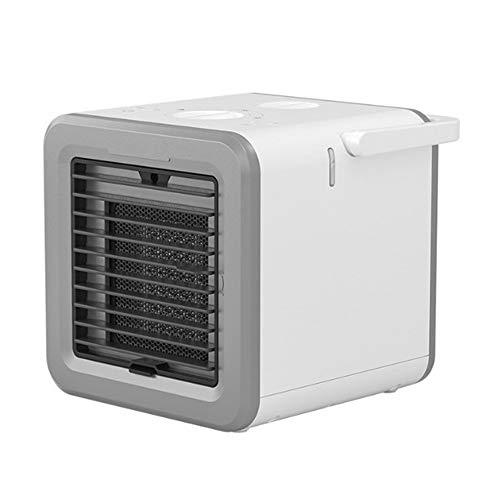 Calentador Ajustes Mini portátil de refrigeración por agua Refrigerador de aire del ventilador del acondicionador de aire personal refrigeradores evaporativos Purificador de calor y frío del a