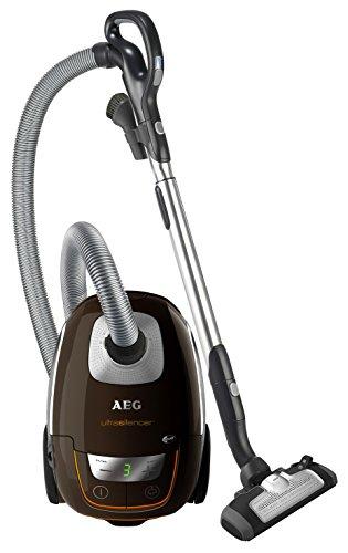 AEG UltraSilencer USALLFLOOR Staubsauger mit Beutel / 1400 Watt/Beste Reinigungsklasse auf Hartböden / 2 Düsen/inkl. Zubehör