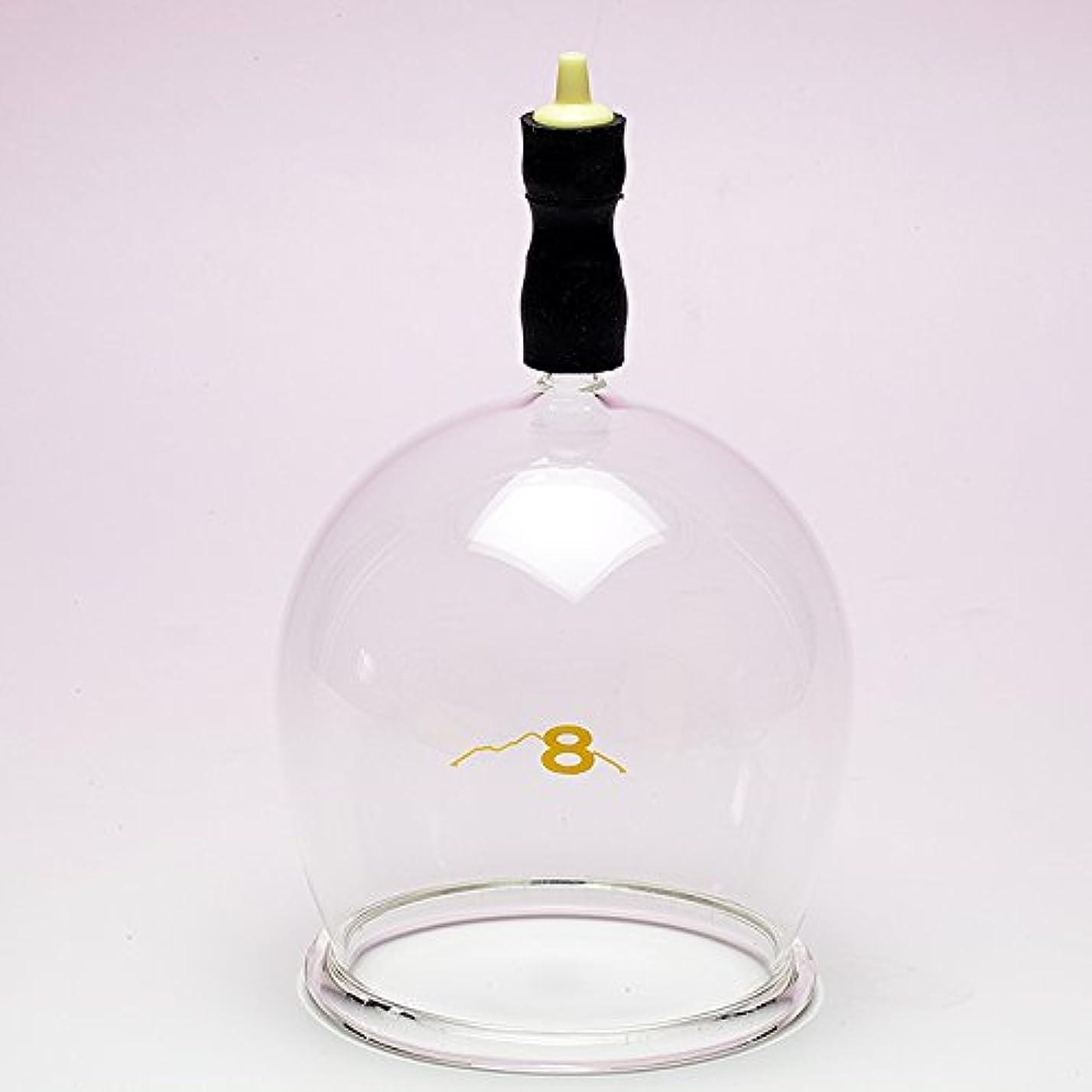 取り組むアルネチキン霧島ガラス玉(電動吸い玉機器用吸着具)完成品8号