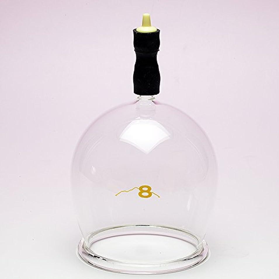 仲間タイヤ夕食を作る霧島ガラス玉(電動吸い玉機器用吸着具)完成品8号